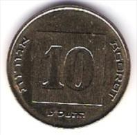Israel 10 Agorot Al-N-Bro  Schön Nr.153 KM 158 - Israel
