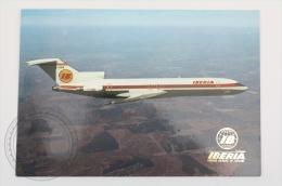 Airline Transport Postcard -  Iberia Airlines - Boeing 727/ 256 - Dirigibili