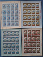 Russia 1979 Unif. 4617/20 Minif. Da 16 **/MNH VF - Blocs & Feuillets