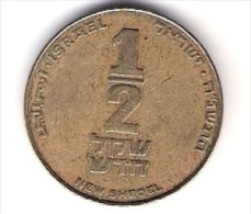 Israel 1/2 New Shegel Al-N-Bro Aus 1985-2011 Schön Nr.154 KM 159 - Israel