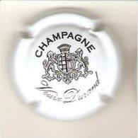 CAPSULE MUSELET CHAMPAGNE  VEUVE DURAND (NOIR SUR BLANC N°10 Caracteres Italiques) - Durand (Veuve)