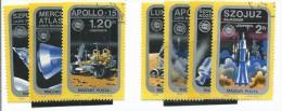 FRSP001 - UNGHERIA - RICERCA SPAZIALE AMERICANA E SOVIETICA - APOLLO- SOJUS - Space