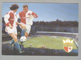 SLAVIA PRAHA...SOCCER...CALCIO . .FOOTBALL....STADIO...STADE...STADIUM..CAMPO SPORTIVO - Fútbol