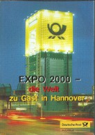 ALEMANIA DOCUMENTO CON SELLOS EXPO 2000 HANNOVER - 2000 – Hanover (Germany)