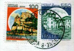 CANCELLO ARNONE - CE  -  Anno 1991 - Timbri