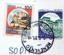 BENEVENTO  -  Anno 1991 - Timbri