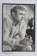Original Vintage Cinema/ Movie Postcard - Actor: James Dean - Actores