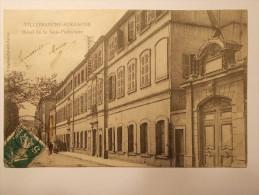 Carte Postale - VILLEFRANCHE SUR SAONE (69) - Hôtel De La Sous-Prefecture (1575) - Villefranche-sur-Saone