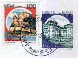 MASI TORELLO - FE  -  Anno 1991 - Timbri