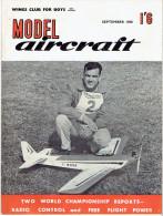 MODEL AIRCRAFT SEPTEMBER 1960 - Groot-Britannië