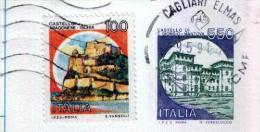 CAGLIARI ELMAS  -  Anno 1991 - Timbri