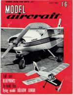 MODEL AIRCRAFT JULY 1962 - Groot-Britannië