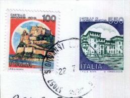 SAN GIOVANNI LUPATOTO - VR  -  Anno 1991 - Timbri