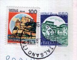 TALSANO - TA  -  Anno 1991 - Timbri