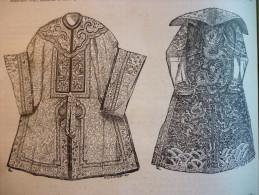 Costumes Chinois , Gravure De Yves & Barret 1881 - Prints & Engravings