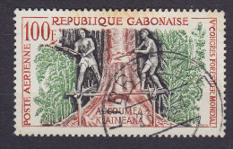 Gabon 1960 Mi. 155      100 Fr Weltkongress Für Forstwirtschaft - Gabun (1960-...)