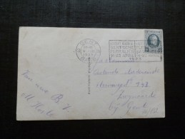 46/1302  CP  BELGE  FLAMME  GENTSE FLORALIEN  1923 - België