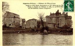 N°41183 -cpa Argenton Château -château De L´Ebaupinaye- - France