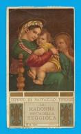 ED. S.L.E. N. 1014: LA  MADONNA DETTA DELLA SEGGIOLA - RAFFAELLO  - Mm. 68X120 - PR - Religione & Esoterismo