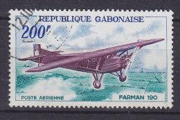 Gabon 1967 Mi. 273     200 Fr Flugzeug Aeroplane Hochdecker Farman 190 - Gabun (1960-...)