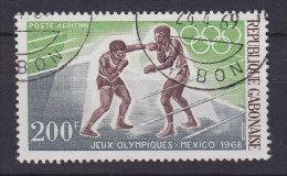Gabon 1968 Mi. 311     200 Fr Olympische Smmerspiele, Mexico Olmpic Games Boxing - Gabun (1960-...)