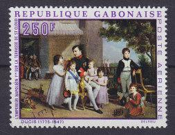 Gabon 1969 Mi. 332     250 Fr Emperor Napoleon I. Auf Der Terrasse Von St. Cloud 1810 Gemälde Vo J.L. Ducis - Gabun (1960-...)