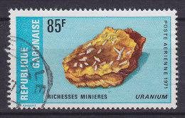 Gabon 1971 Mi. 443     85 Fr Bodenschätze Richesses Minieres Uranium - Gabun (1960-...)