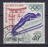 Gabon 1972 Mi. 454     40 Fr Olympische Winterspiele, Sapporo Olympic Wintergames Skispringer - Gabun (1960-...)