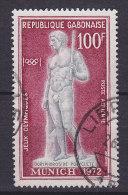Gabon 1972 Mi. 471    100 Fr Olympische Sommerspiele, München Speerträger Spear Bearer - Gabun (1960-...)