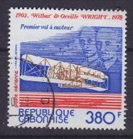 Gabon 1978 Mi. 687      380 Fr Wilbur & Orville Wright First Flight - Gabun (1960-...)