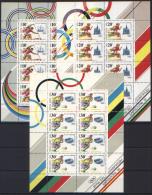Russia 1991 Unif. 5908/10 Minif. Da 8 **/MNH VF - Blocchi & Fogli