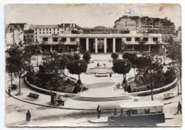 PAU--1945--Le Palais Des Pyrénées Et Le Square Clémenceau (petite Animation,autocar Au 1er Plan) N°161 éd CAP-cachet PAU - Pau