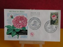 FDC - Roses De France - Paris 8.9.1962 - 1er Jour, Coté 3.50 € - FDC