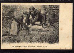 CPA   37    M.PIRODEAU FRERES, HONGREUR A MARCAY---TACHEE MAIS TRES TRES RARE ?