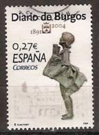 España U 4072 (o) Diario De Burgos. 2004 - 2001-10 Usados
