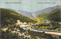[DC5922] VEDERI DIN CALIMANESTI - CACIULATA CUMANASTIREA COZIA - Non Viaggiata - Original Old Postcard - Romania