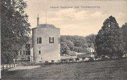 [DC5927] CARTOLINA - PAESI BASSI - KASTEEL ROSENDAEL MET TUINMANSWONING - Non Viaggiata - Original Old Postcard - Velp / Rozendaal