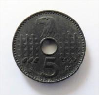 5   REISCHSPFENNING 1940 A HAUTE QUALITE - [ 4] 1933-1945 : Third Reich