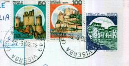 VISERBA - FO - Anno 1992 - Timbri