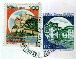 CASTIGLIONCELLO CALETTA - LI  - Anno 1992 - Timbri