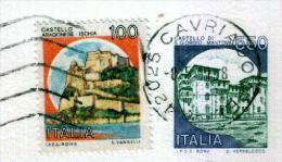 CAVRIAGO - RE  - Anno 1991 - Timbri