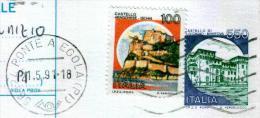 PONTE A EGOLA - PI  - Anno 1991 - Timbri