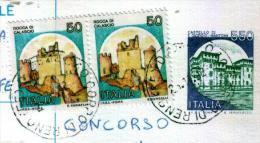 CORPO DI RENO - FE  - Anno 1992 - Timbri