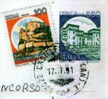 CASTELFIDARDO - AN  - Anno 1991 - Timbri