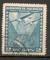 Timbres - Amérique - Chili - 1944/46 - Aéreo - 5 Centavos - - Chile