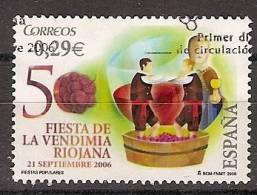 España U 4265 (o) Vendimia Riojana. 2006 - 2001-10 Usados
