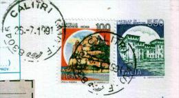 CALITRI - AV  - Anno 1991 - Timbri