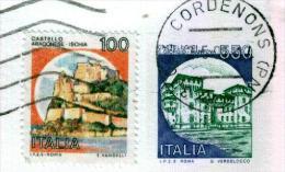 CORDENONS - PN - Anno 1991 - Timbri