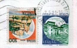 BARELLONA POZZO DI GOTTO - ME - Anno 1991 - Timbri