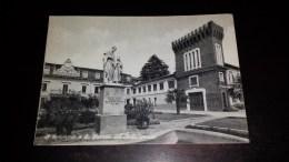 C-19869 CARTOLINA RIVOLI - COLLEGIO SAN GIUSEPPE - IL MONUMENTO A SAN GIUSEPPE NELL'AIUOLA CENTRALE - Rivoli